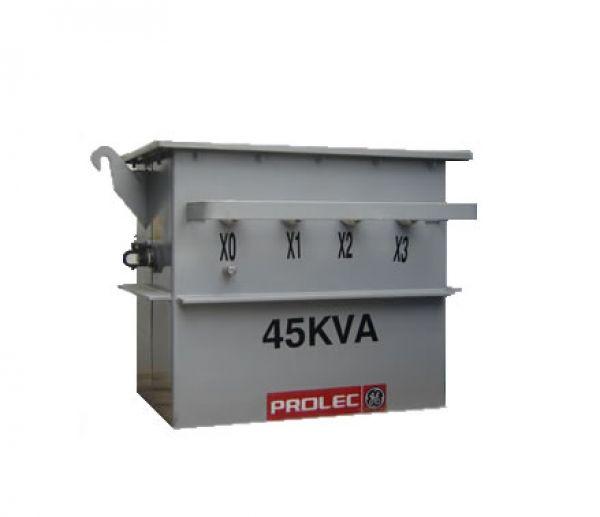 Transformador Trifásico 45KVA